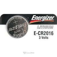 Photo Energizer CR-2016 bat(3B) Lithium 1шт